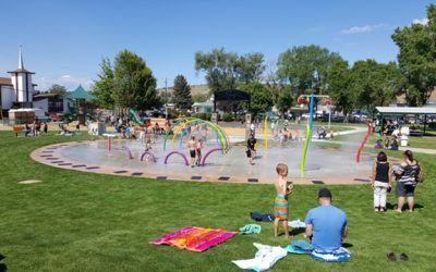 Making a splash at Sahalee Park in Madras